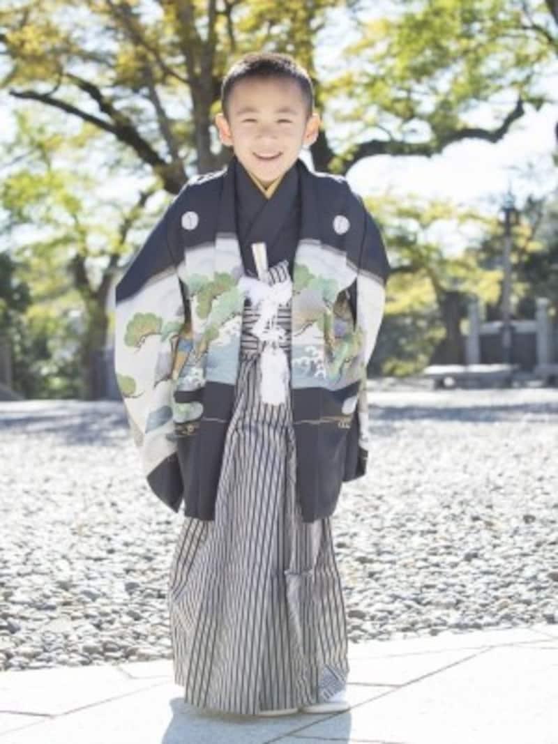 紋付の羽織袴が基本