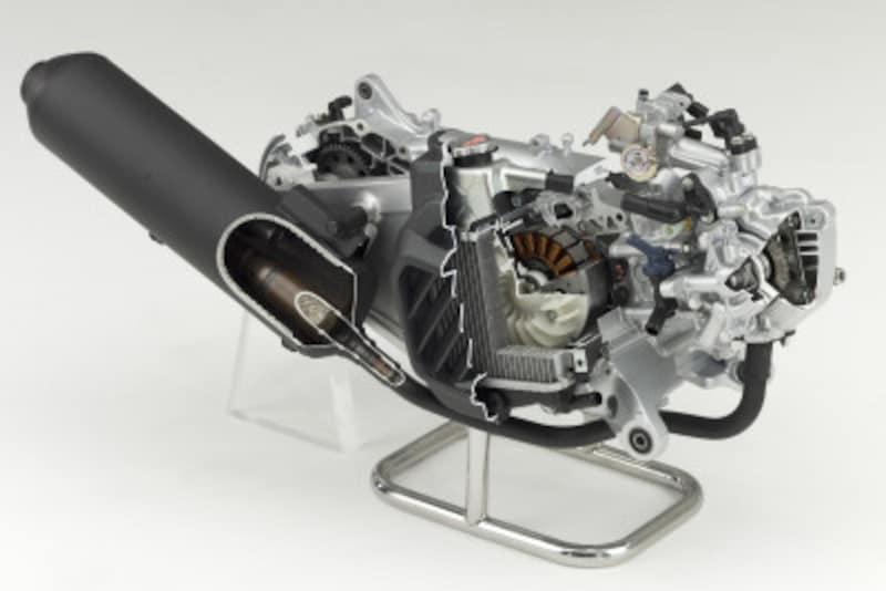 PCXハイブリッドに搭載されるeSPエンジン