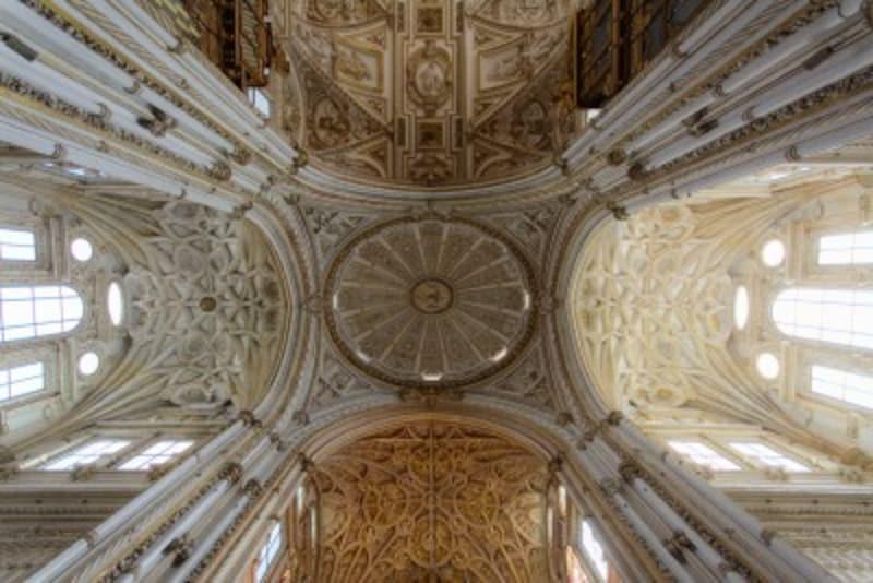 メスキータ 中央礼拝堂 天井 スペイン 世界遺産
