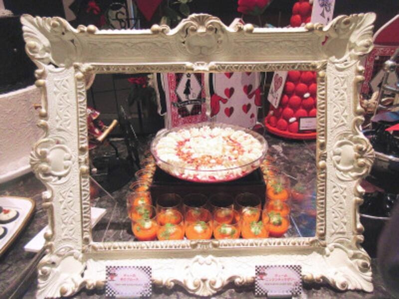 ヒルトン東京マーブルラウンジディーの赤かぶムース
