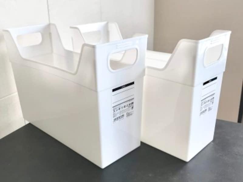キャンドゥのおすすめ収納グッズ:いろいろ使えるファイルボックス「スッキリまとめ隊」