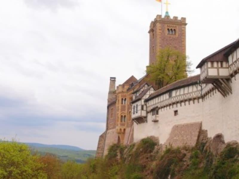ドイツ史に深く関わってきた、ヴァルトブルク城。