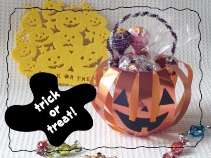 かぼちゃのキャンディーポット