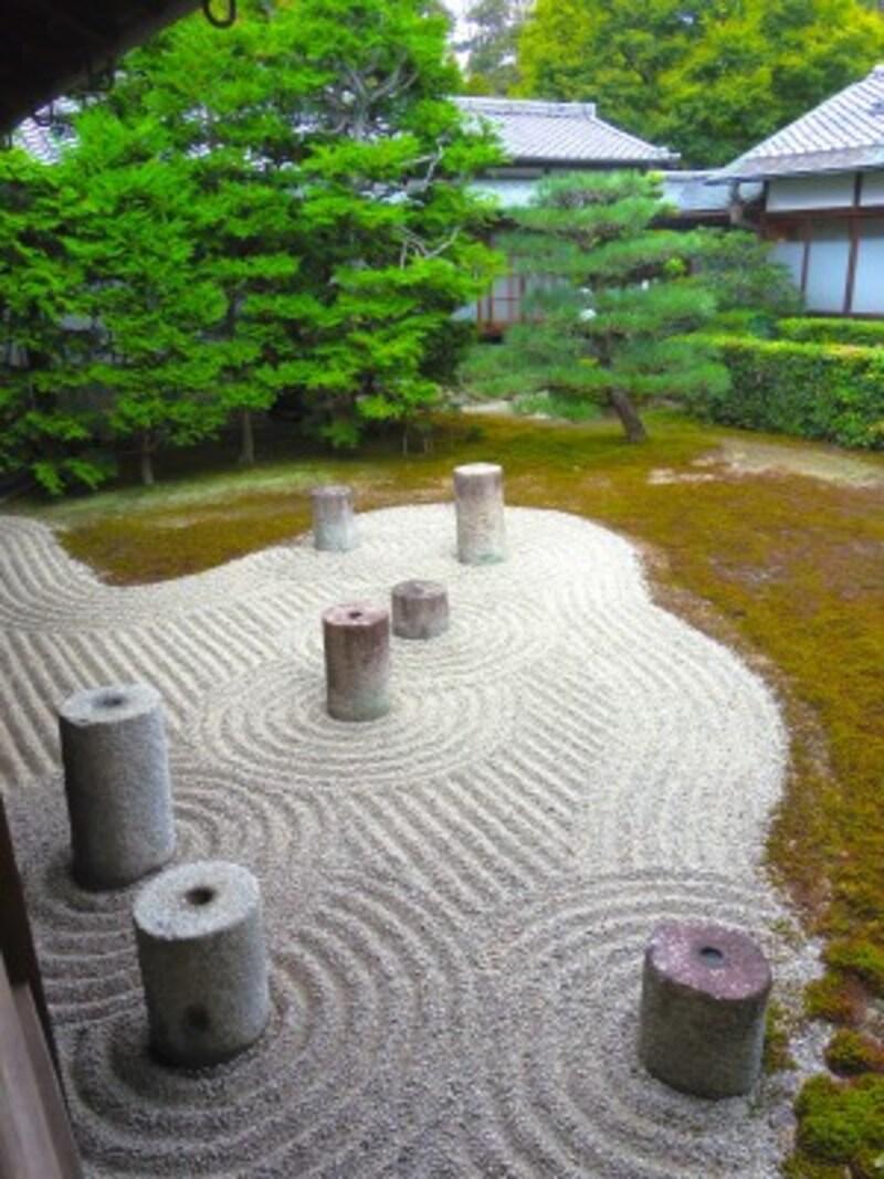 本坊庭園の東庭