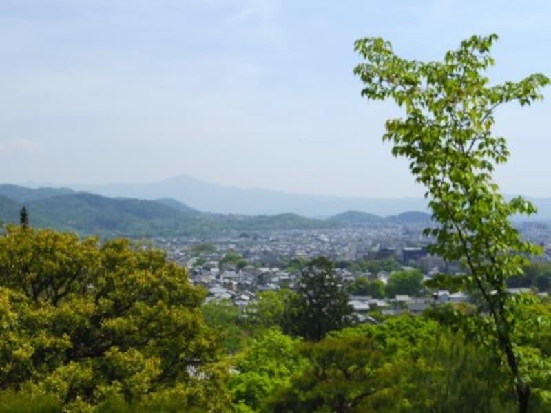 常寂光寺の展望台からの眺め