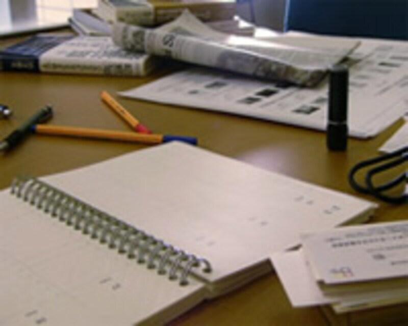 メモリは「机」