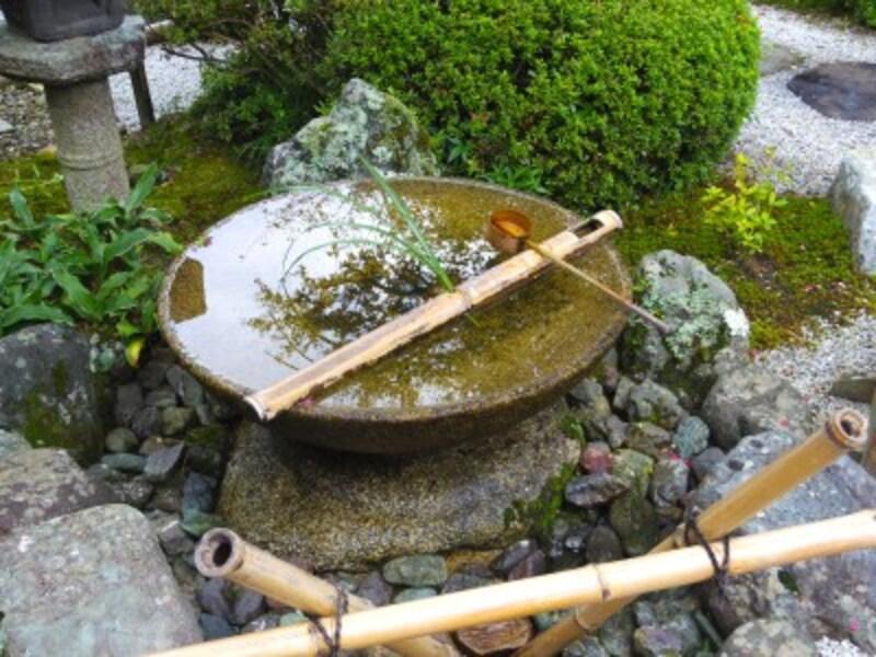 圓光寺に行ったら聞きたい水琴窟