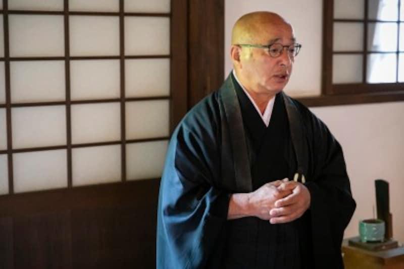 圓光寺のご住職からの法話