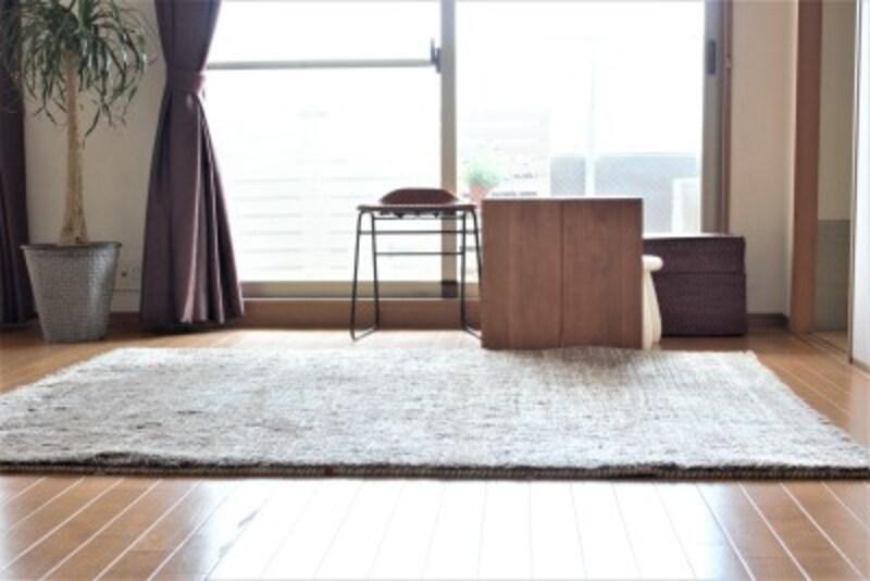 ガイドの自宅リビング。部屋の快適さを保つよう、心がけているルールがあります