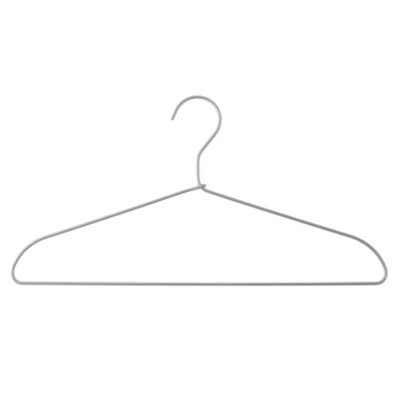 無印良品の定番人気のアルミ洗濯用ハンガー。軽くて劣化しにくいので長く愛用できます