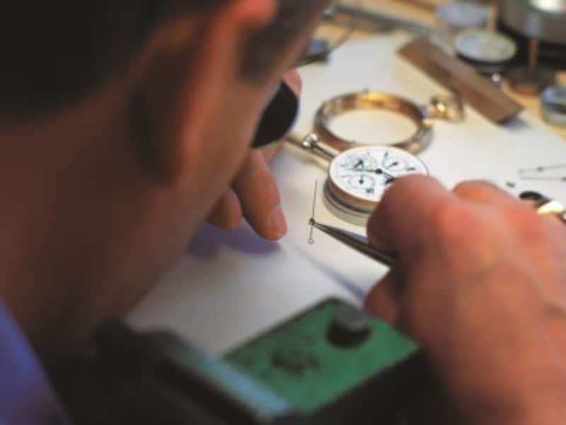 スイス時計職人
