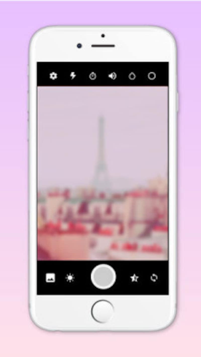 転載元:SweetCameraピンク加工カメラアプリ-AppStore