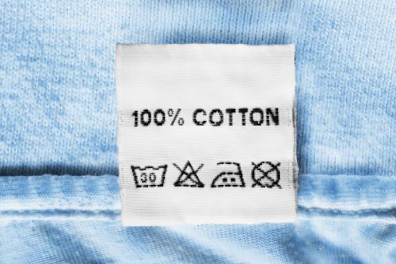 洗濯表示とは、衣類の内側についているラベルに描かれたマークのこと