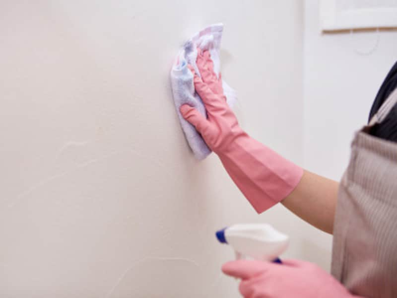 トイレ掃除:壁