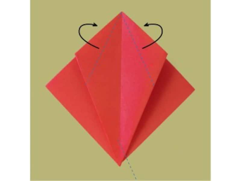 かぼちゃの折り紙の簡単な折り方|ハロウィン折り紙