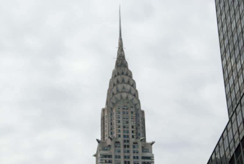 アールデコ建築の代表的建築物である、クライスラー・ビルディング