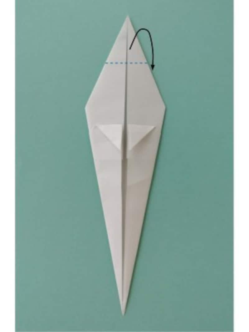 ハロウィン折り紙|おばけの折り紙折り方7