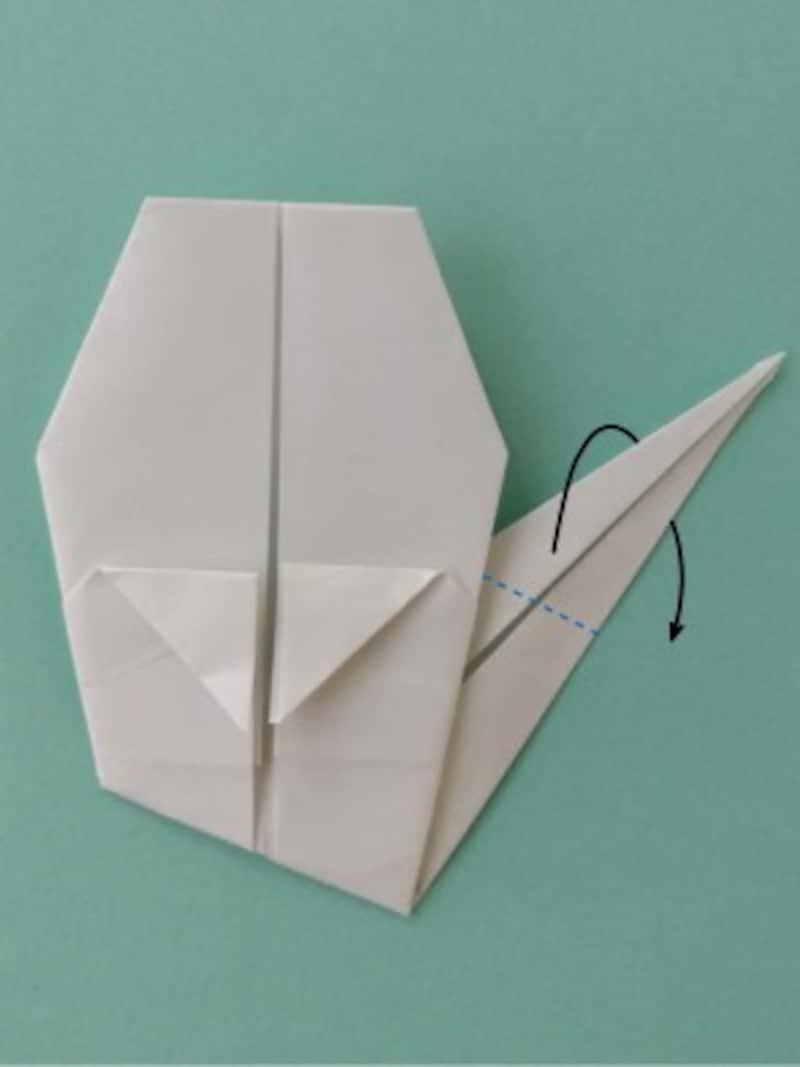 ハロウィン折り紙|おばけの折り紙折り方9