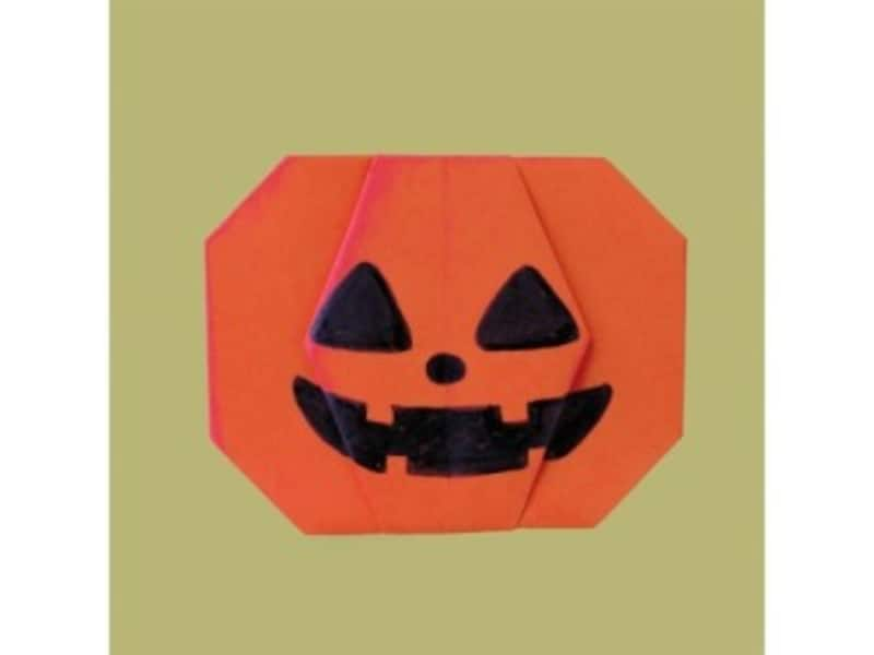 ハロウィンの主役かぼちゃの折り紙