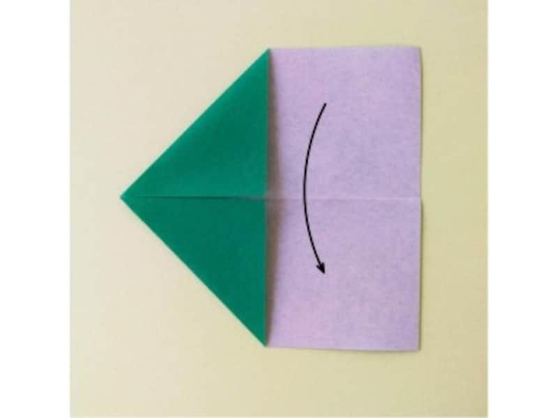 折り紙リース土台(8枚)クリスマスリース作り方3