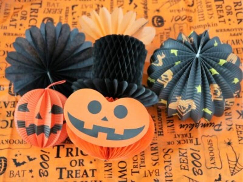 ジャックオーランタンの飾りはハロウィンパーティーのマストアイテム。