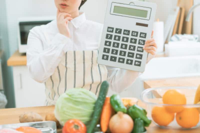 食費を節約しようと思うと気になるのが、周りの食費の平均