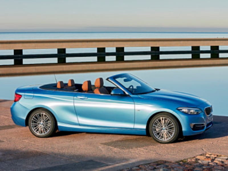 BMW2シリーズカブリオレ