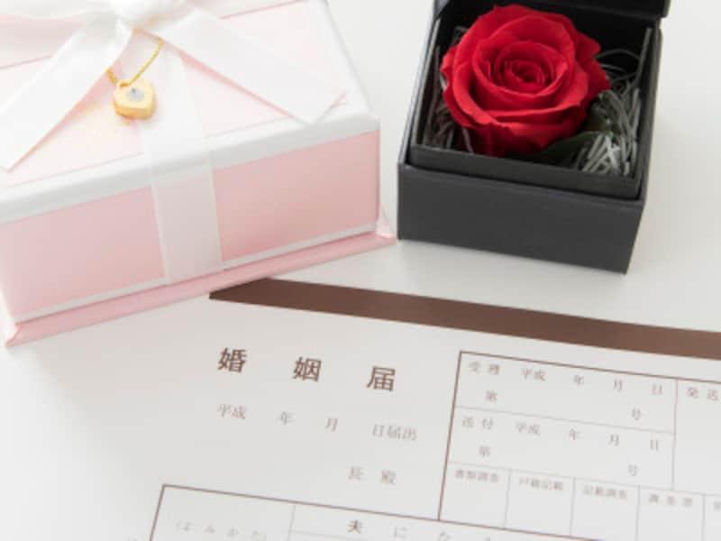 結婚記念日の数え方、祝い方、プレゼント