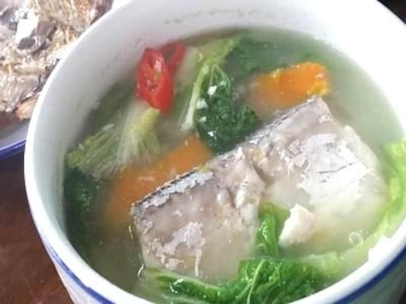 これより美味しい太刀魚スープは飲んだことありません!一度ご賞味あれ!