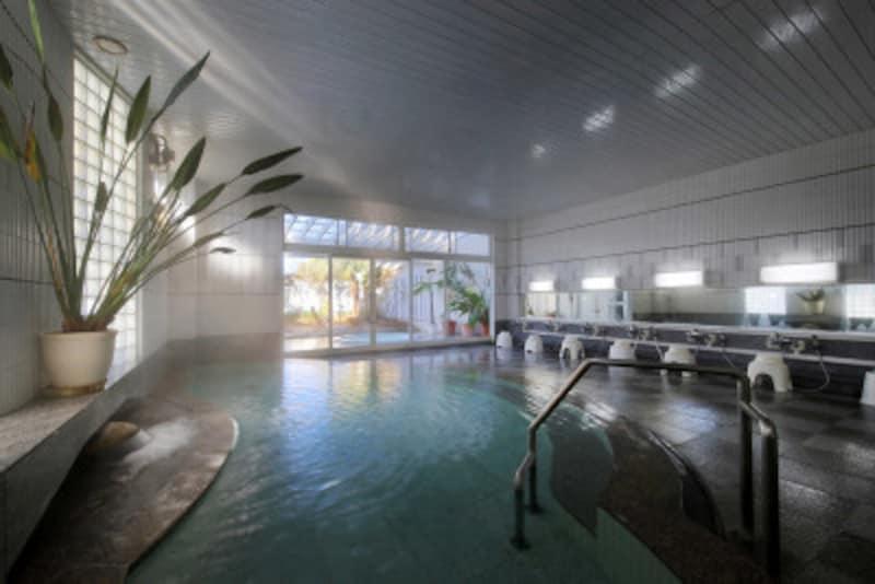美味しい温泉夢みさき大浴場
