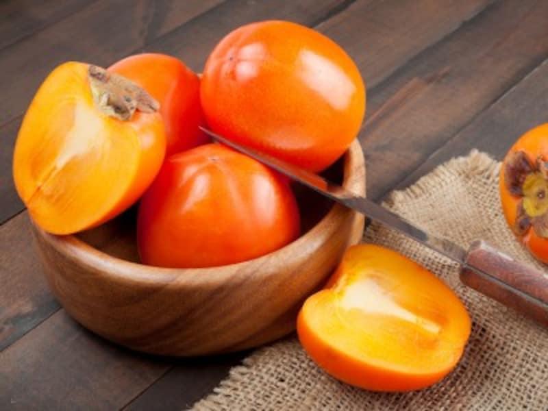 柿の健康効果は高い?