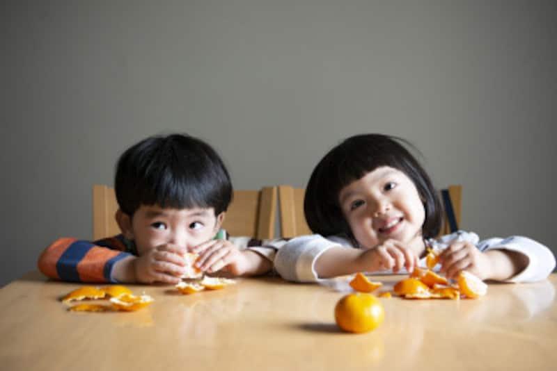 みかんの栄養素と健康効果