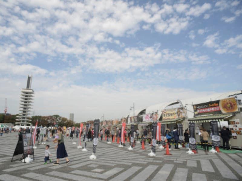 東京ラーメンショー会場の様子(画像は2017年)