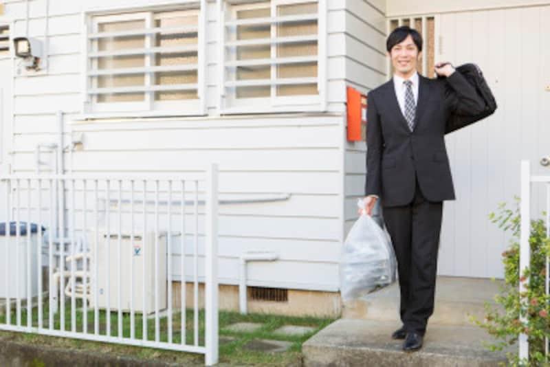 夫の家事手伝い:夫がやっているのは「ゴミを集積場に持っていくだけ」。あくまで、ゴミに関わる一連の作業のほんの一部