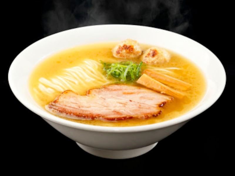 東京ラーメンショー2018 第2幕ー7 埼玉県:自家製麺竜葵 日本三大地鶏 極上塩らぁ麺