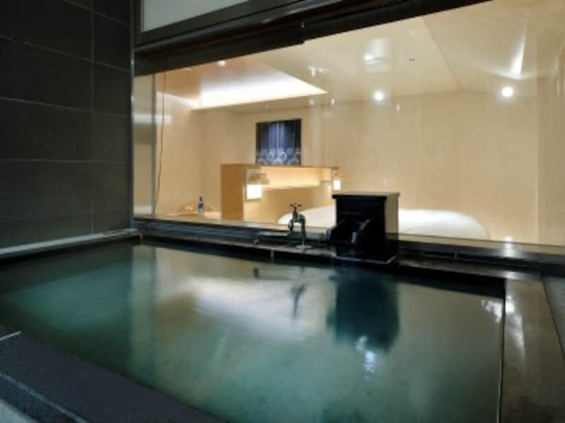 露天風呂.松之山温泉.露天風呂付き客室.玉城屋.椿......