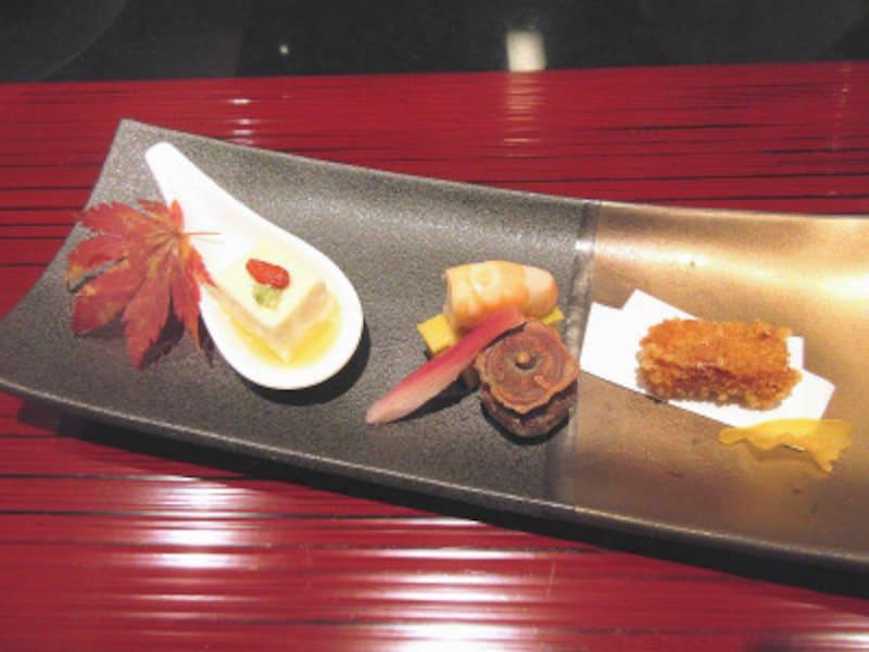 ハイアットリージェンシー東京鉄板焼グリル前菜盛り合わせ