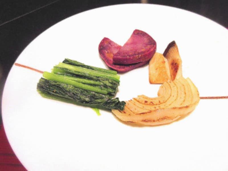 ハイアットリージェンシー東京鉄板焼グリルシェフのおすすめ焼野菜