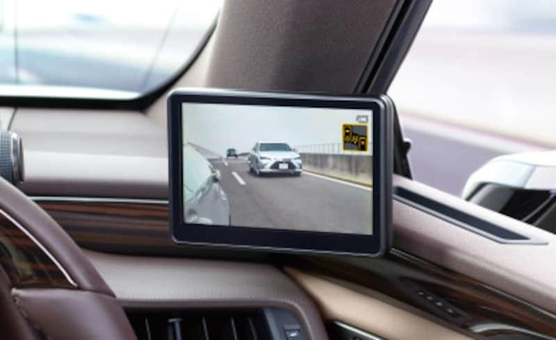 レクサスES300h デジタルアウターミラー ディスプレイ(運転席側)