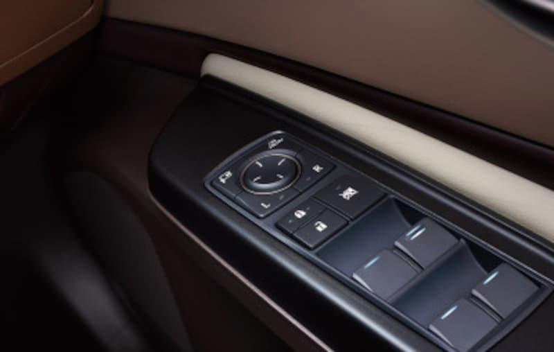 レクサスES300hデジタルアウターミラーミラースイッチ(運転席ドア)