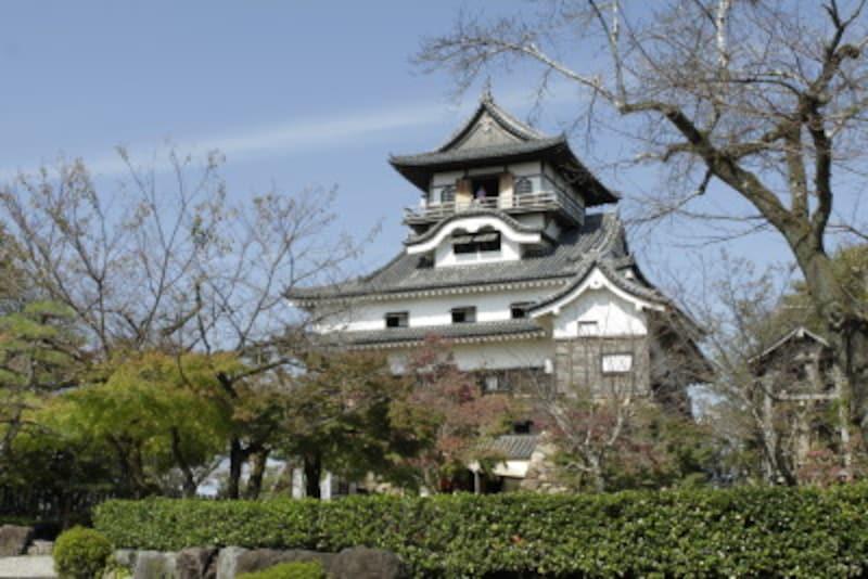 日本最古の木造天守を持つ犬山城