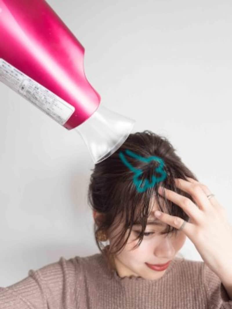 高橋愛さん風の前髪の作り方