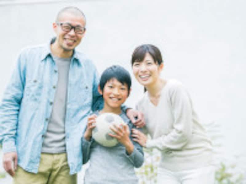 40代の家族写真