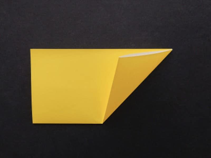 星の折り紙・切り紙!折り紙1枚で切って作る方法
