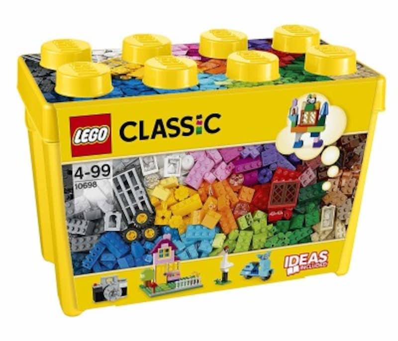 子供のクリスマスプレゼント人気ランキング1位『レゴクラシック黄色のアイデアボックススペシャル10698』