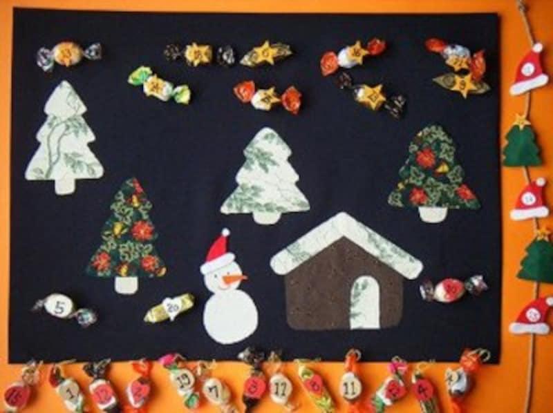 クリスマス製作・工作『アドベントカレンダー』