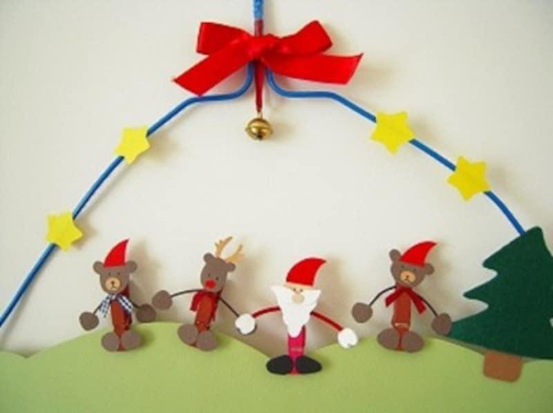 クリスマス製作・工作『クリスマスのプチ飾り』