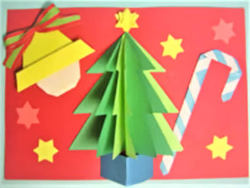 クリスマス製作・工作『飛び出すクリスマスカード』