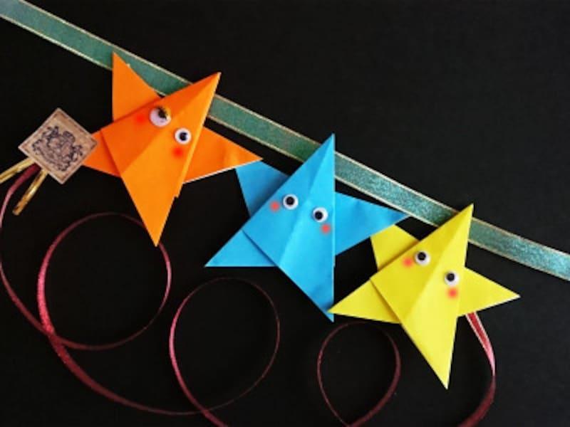 クリスマス製作・工作『星飾りのオーナメント』