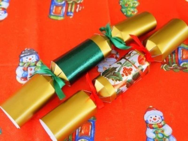 クリスマス製作・工作『パーティークラッカー』